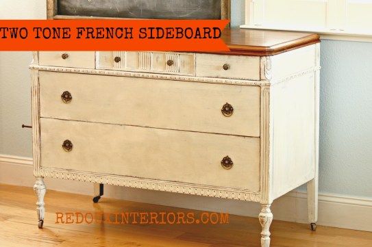 French Buffet with Sideboard