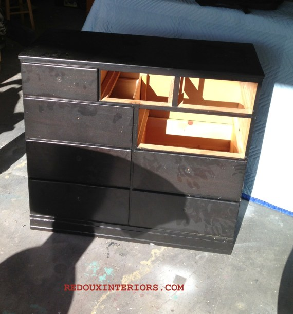 Roadside find dresser without drawers redouxinteriors.com