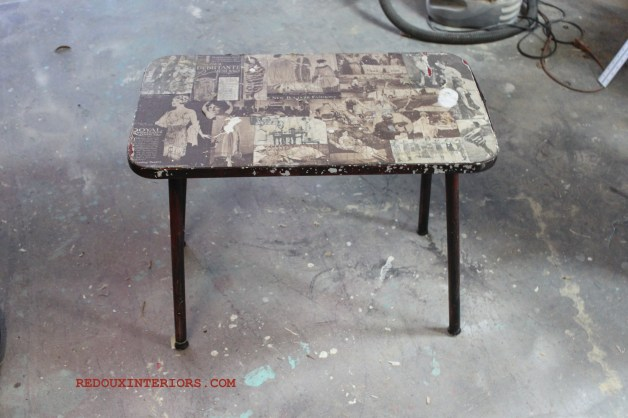 Dumpster  table