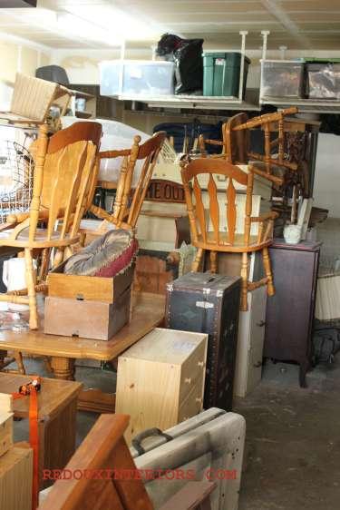 Garage March 2013 before