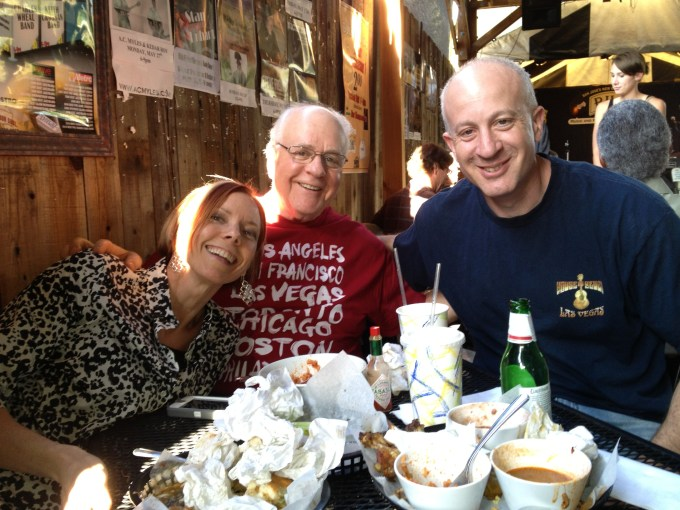 Cajun food with family-001