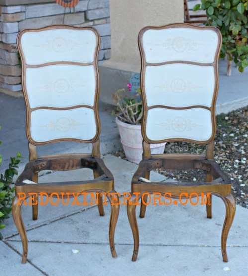 French Chairs from Liisa
