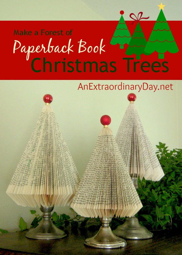 Make-Paperback-Christmas-Trees-AnExtraordinaryDay.net_