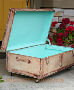 Transforming a Trunk with CeCe Caldwell's Paint Tricks
