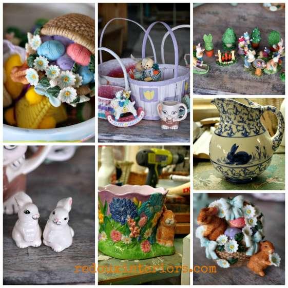 Easter Junk Collage redouxinteriors