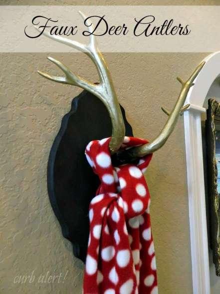 Faux Deer Antlers