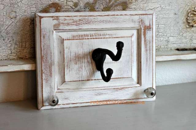 Single Hook on cabinet door redouxinteriors