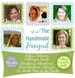 The Best DIY Link Party at The Handmade Hangout #1