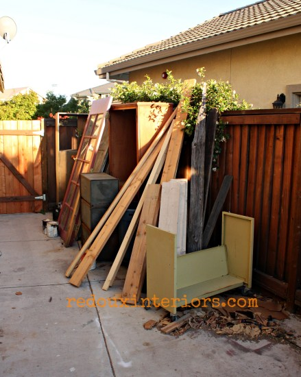 Side yard of less junk redouxinteriors