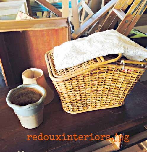 free picnic basket pot and table runner
