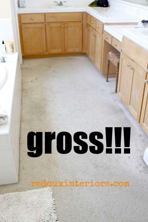 gross carpet in master bedroom redouxinteriors.com