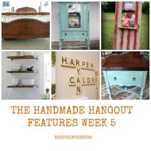 Best DIY Link Party at The Handmade Hangout Week 5