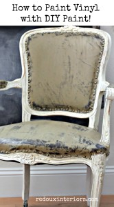 How To Paint a Vinyl Chair With CeCe Caldwell's Paints