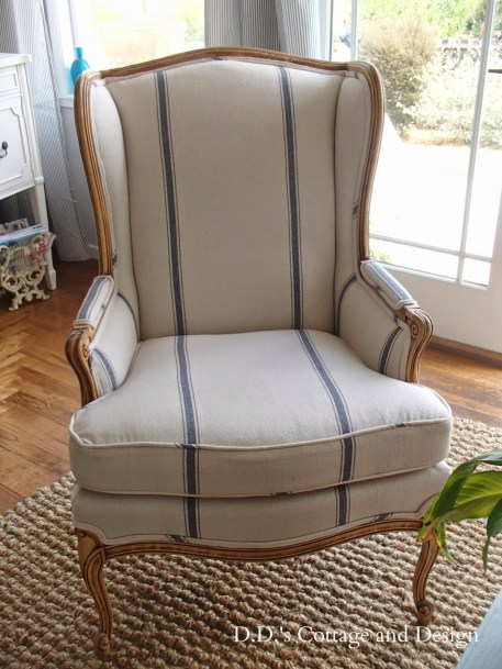 dds cottage chair makeover