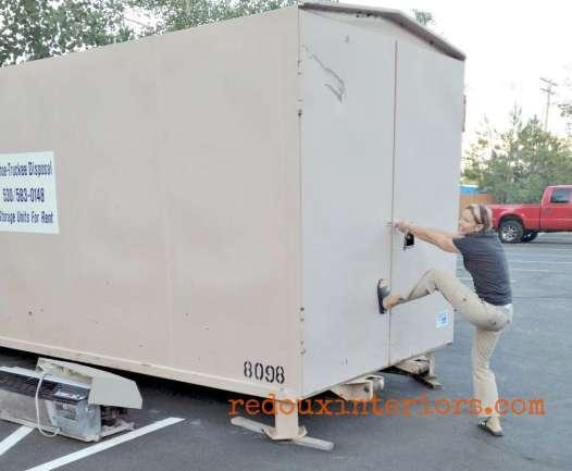 Opening large dumpster redouxinteriors