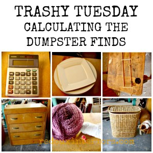Trashy Tuesday Calculating The Dumpster
