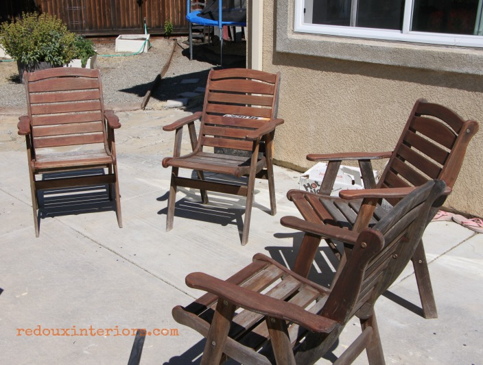 free patio chairs found on sidewalk redouxinteriors