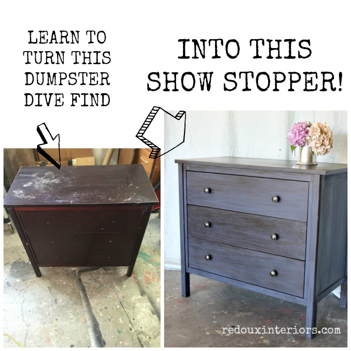 Mark's nightstand before and after cece caldwells paints redouxinteriros