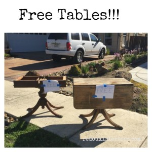 Trashy Tuesday Free Upcycles