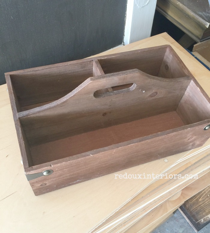 Wood Tote Free from Dumpster