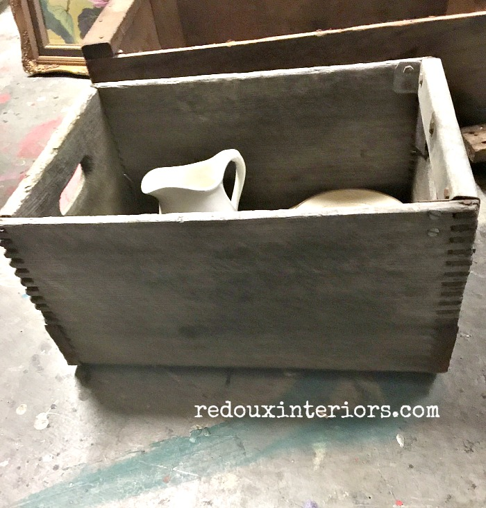 Junk Wood Box redouxinteriors