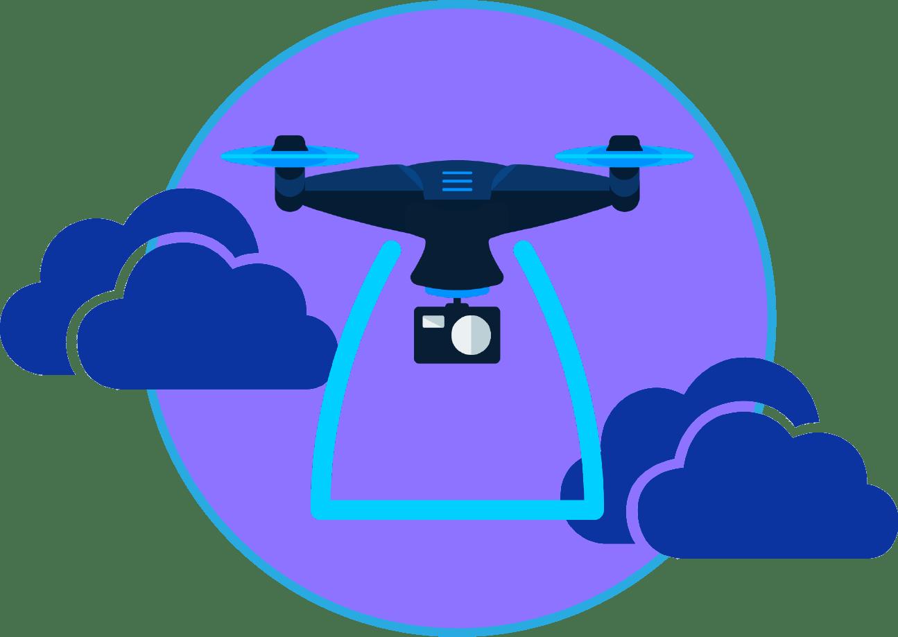video avec drone production