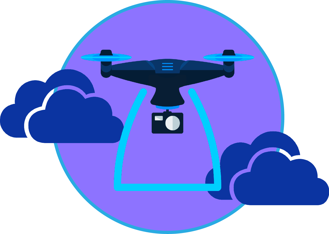video avec drone production