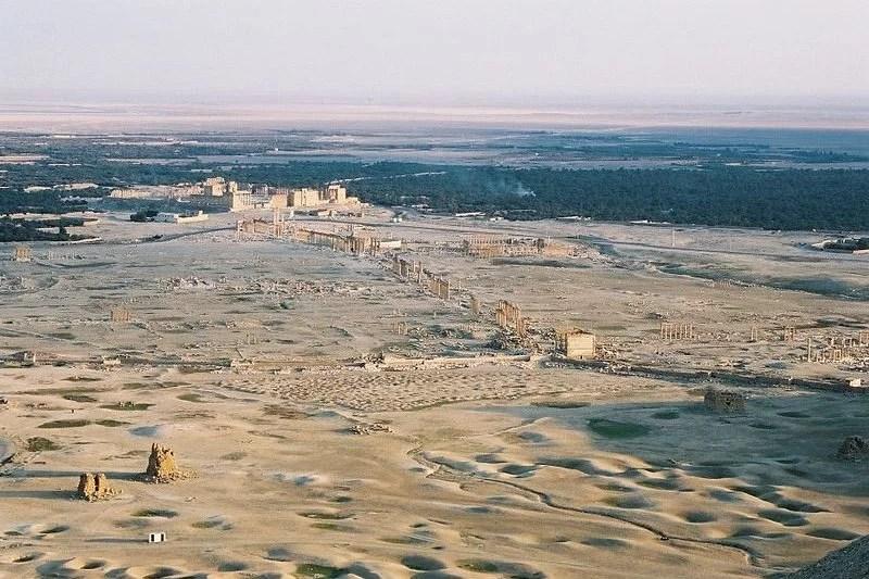 Palmyra, Syria. Photograph: Eustache Diemert