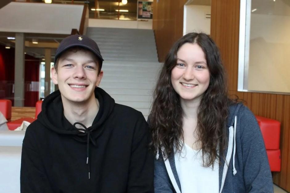 Erik van Halewijn en Tamara Happé. Foto: Tess Castelijn