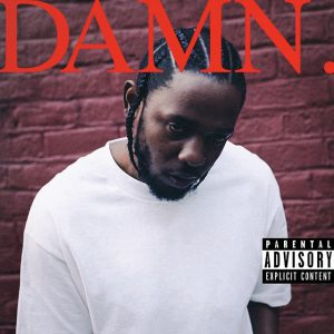 DAMN. by Kendrick Lamar (April 11, 2017). Photo: Kendrick Lamar
