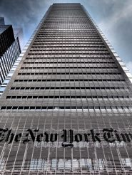 Gebouw van de New York Times in New York. Foto: Geoff Livingston