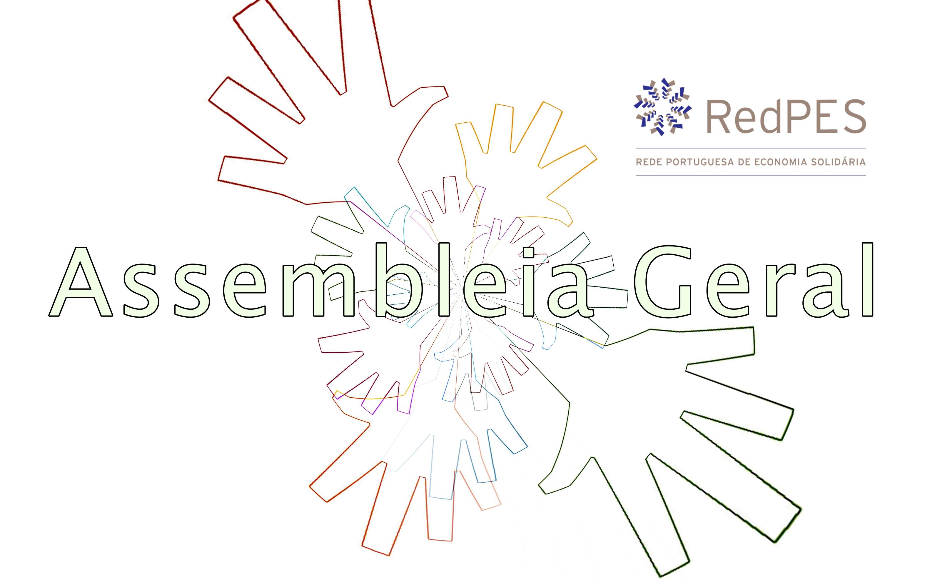 mãos votando na Assembleia Geral da RedPES no Entroncamento