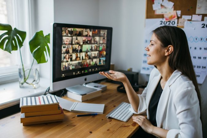 Using video conference calls are an effective way to communicate and a great use of remote work best practices
