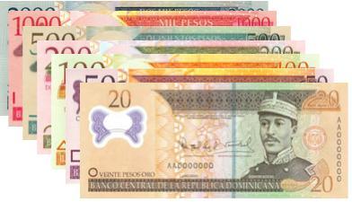 monedas Sistema Tributario Dominicano