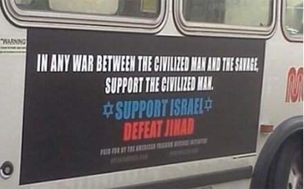 Islamophobic billboard