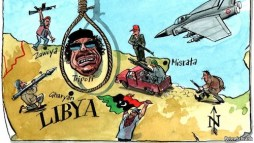 Right vs wrong in Libya
