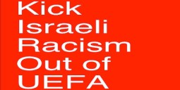 Kick Israeli racism out of UEFA