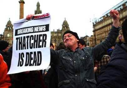Thatcher is dead