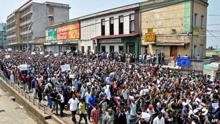 Ethiopian protest