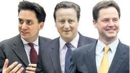 Miliband-Cameron-Clegg