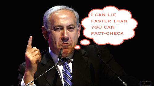 Binyamin Netanyahu the liar