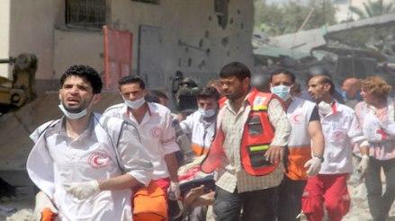 Gaza emergency medical team