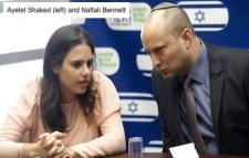 Ayelet Shaked and Naftali Bennett