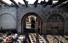 Tabghe Church arson