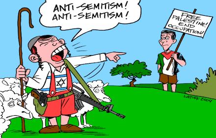 Israel's anti-Semitism weapon