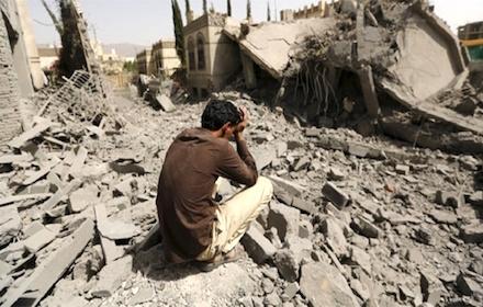Saudi-inflicted destruction in Yemen