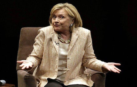 Hillary Clinton and hubris