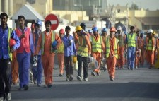 Foreign workers in Qatar