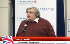 Jerry Lewis of Hampstead Synagogue