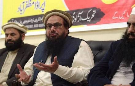 Pakistani militant leader Hafez Saeed